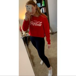 Tops - Coca-Cola Red Cropped T-Shirt
